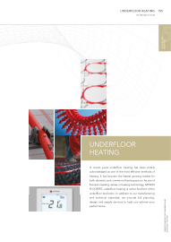 Full Underfloor Heating Range