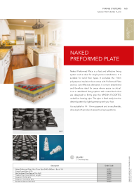 Naked Pre- Formed Plate